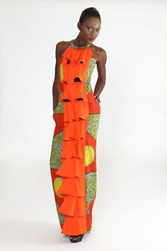 Modahnik is a woman's contemporary label that creates beautiful dresses using bold colors, vibrant African inspired prints and western styles. The line is produced in Africa using sustainable fair trade practices that adhere to the highest ethical and socially conscious principles.