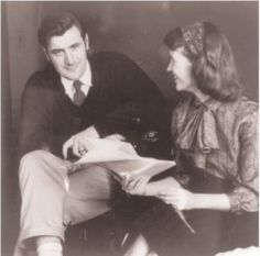 Sylvia Plath and Ted Hughes Anne Sexton, Sylvia Plath Quotes, Ted, Story Writer, American Poets, My People, Short Stories, The Twenties, Life