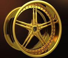 #wheels PROMBRON GOLDEN WHEELS