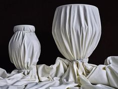 """Abelardo Morell on Instagram: """"Two Vases Covered with White Cloth,2019"""" Small Milk Bottles, Dial M For Murder, Paper Structure, Primary And Secondary Colors, Still Life 2, Little Theatre, Small Mirrors, Glass Domes, White Ink"""