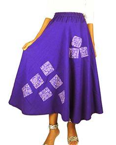 Bonya Women's Bohemian/Hippies Maxi Swing Skirts - (Dark Purple) Bonya Collections http://www.amazon.com/dp/B019EBDBCE/ref=cm_sw_r_pi_dp_O8eCwb0PFE94C
