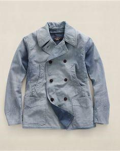 Cotton Twill Harding Coat - Cloth Jackets & Outerwear - RalphLauren.com