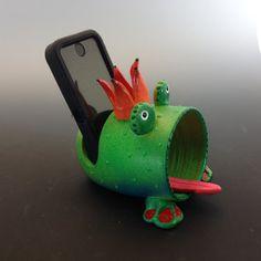 Cell Phone Speaker HolderCell Phone Desk Stand by PondScumCeramics
