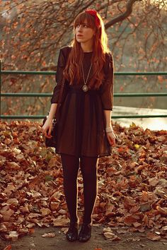 What a perfect fall outfit!!!