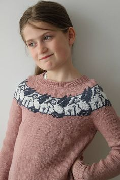 Ravelry: Colibri Sweater pattern by Yvonne B. Intarsia Patterns, Sweater Knitting Patterns, Knitting Designs, Diy Knitting Projects, Little Boy And Girl, Fair Isle Knitting, Knitting For Kids, Crochet Baby, Knit Crochet