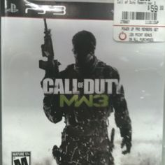 Call of Duty Modern Warfare 3 - videogame for Play Station 3 $59.99