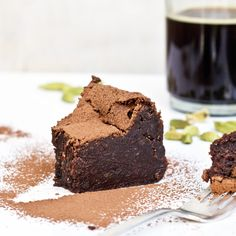 Ottolenghi's Chocolate Truffle Cake with Cardamom and Espresso