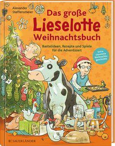 Adventskalender-Buch - Das große Lieselotte Weihnachtsbuch