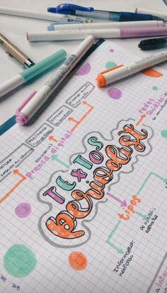 Bullet Journal School, Bullet Journal Notes, Bullet Journal Lettering Ideas, Bullet Journal Writing, Bullet Journal Ideas Pages, School Organization Notes, Notebook Organization, Pretty Notes, Cute Notes