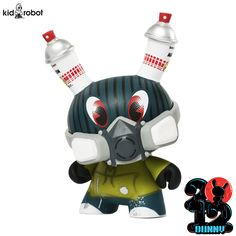 ~ Dunny Apocalypse Series ~ Sealed Case ~ 16 Dunnies ~ Huck Gee ~ ID-01