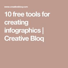 10 free tools for creating infographics | Creative Bloq