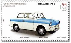 Stamp Germany 2002 MiNr2290 Trabant.jpg   ~ https://de.pinterest.com/supertick57/auto-trabant-ddr-de-19571991/