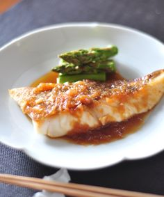 Home Recipes, Asian Recipes, Cooking Recipes, Ethnic Recipes, Fish Dishes, Fish And Seafood, Food Plating, Japanese Food, Food Porn