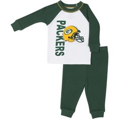 NFL Green Bay Packers 3 Pack Bodysuit Romper Jumpsuit Outfits Baby Fanatics