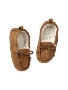 735a5a87c36a Moccasin slippers Product Image Toddler Moccasins