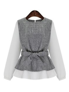 Ericdress Color Block Patchwork Bow Knot Blouse - Ericdress Color Block Patchwork Bow Knot Blouse The Effective Pictures We Offer You About outfits 2 - Muslim Fashion, Hijab Fashion, Fashion Outfits, Classy Outfits For Women, Clothes For Women, Mode Turban, Bluse Outfit, Womens Sleeveless Tops, Mode Inspiration