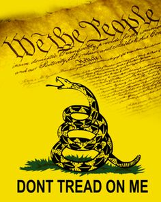 """""""Don't Tread On Me"""" -Gadsden Flag & We the People... as background screen for Apple Watch. If you have an Apple Watch, this image will fit both Apple Watch size screens."""