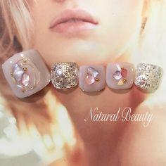 春/夏/梅雨/ハンド/ラメ - naturalbeautyのネイルデザイン[No.3018762]|ネイルブック
