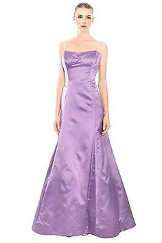 Vera Wang Lavender Satin Gown, on eBay for $209.97