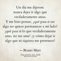 Bruno Mars by Una noche sin café