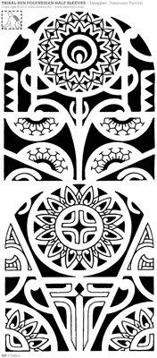 two-arm-tattoo-design-with-ipu-and-marquesan-cross.jpg (176×400)
