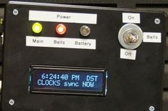 If your school, or kids school, or other location relies on a central master clock that is broken, you may have a use for this device. New master clocks ar