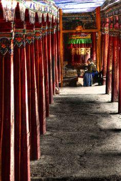 Deprung Monastery . Tibet