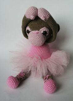 Lilly #amigurumi #crochet.