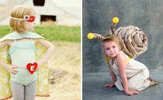 difraz de seperhéroe y de caracol para niños
