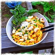 How to Spicy Cold Ginger Sesame Pasta Salad - Gluten Free