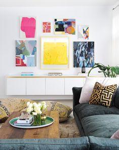 Step inside artist and art dealer Sara Shafran's contemporary space.