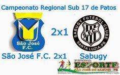 Portal Esporte São José do Sabugi: São José F.C. vence Sabugy e está na semifinal do ...