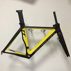 We love ACME Bicycles new custom painted TTiR! #acmebikes #acme #custompaint…