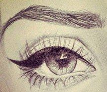 Inspiring picture pencil, eye, eyeliner, fashion, cute. Resolution: 333x333. Find the picture to your taste!