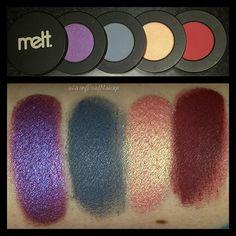 LivingDeadMakeup | Melt Cosmetics Love Sick and Dark Matter Eyeshadow Stacks Review/Swatches