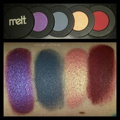 LivingDeadMakeup | Melt Cosmetics Love Sick and Dark Matter Eyeshadow Stacks Review/Swatches