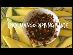 How to make JEOW PADAEK | SPICY MANGO DIPPING SAUCE | House of X Tia | Lao Food - YouTube