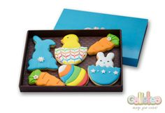 Pack especial de Pascua en color azul: http://www.galletea.com/galletas-decoradas/