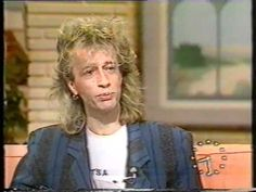 Robin - Good Morning Britain - 1986 - You will love Robin so much, if you don't already, after watching this.  He is sweet and charming and funny and he looks gorgeous.