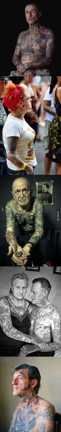 Jay tattoos and body art and muscle on pinterest for Tattoos on old saggy skin