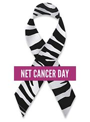 NET Cancer Day.  An international campaign to bring about greater awareness of neuroendocrine cancers. The NET Cancer Awareness Day - November 10. Download NET Cancer Day ribbon; http://netcancerday.org/sup…/download-net-cancer-day-ribbon/