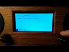 Internet radio with a Java FX UI running on a Raspberry Pi Model B - YouTube