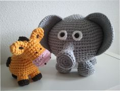 Animals I made with Ribbon XL and by http://www.workshopsathome.blogspot.nl/