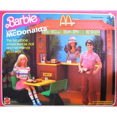 Barbie Loves McDonald's