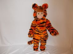 Tiger costume for American Girl Doll or 18 inch doll by WelchWorks, $20.00