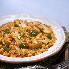 Dominican Chicken & Rice   Meals.com ---I can make this vegan!!!