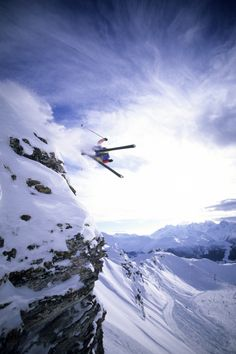 Extreme skiing doesn't explain half of it...