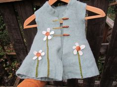 How to make a felted wool vest