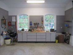 garage organization for a family of garages, organizing, shelving ideas, storage ideas, Dad s work bench includes a butcher block counter top and ample drawer storage Garage Organization Tips, Garage Storage, Drawer Storage, Organizing, Garage Shelving, Safe Storage, Kayak Storage Rack, Garage Makeover, Slat Wall