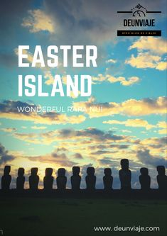 Rapa Nui is one of the most remote places on the planet. The first habitants named the island: Te Pito o Te Henua: The belly button of the world. Polynesian Dance, Easter Island, Beautiful Sunrise, How To Speak Spanish, World Heritage Sites, East Coast, The Locals, All About Time, National Parks